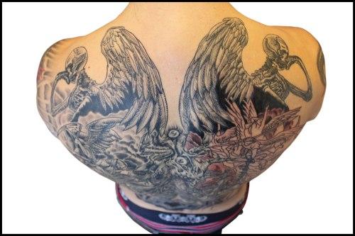 Raffe's back. Click to enlarge!